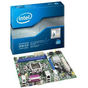 Intel Classic DH61CR Desktop Motherboard - Intel - Socket H2 LGA-1155