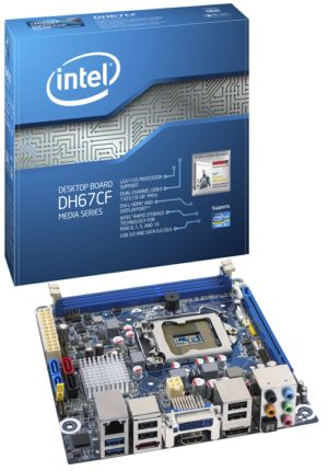 Intel� Desktop Board DH67CF Media Series