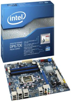 Intel� Desktop Board DP67DE Media Series